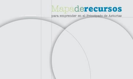 Portada de Mapa de recursos para emprender en el Principado de Asturias 2011-2012