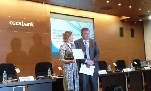 Valnalón en los Premios Funcas a los mejores viveros y aceleradoras de empresas de España