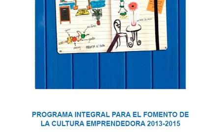 Portada de Programa de Fomento de la Cultura Emprendedora 2013-2015